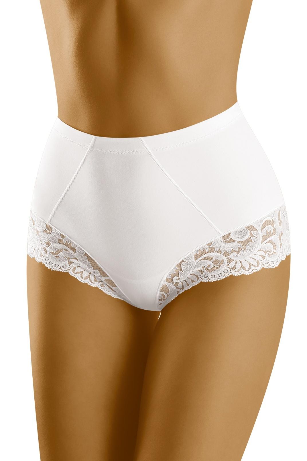 Stahovací kalhotky s krajkou Exepta bílé - ELEGANT.cz b248fb434d