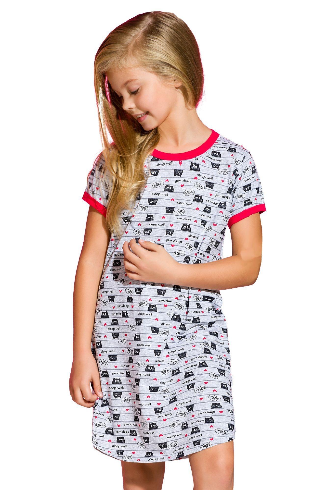 Dívčí noční košile Pepa kočičky - ELEGANT.cz c8bbcfed72