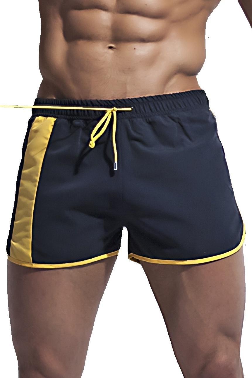 Alpha Male boxerkové plavky Curso černé - ELEGANT.cz 79b354284d