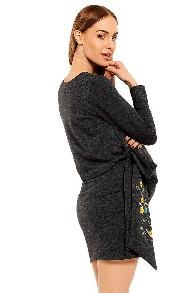 Těhotenské a kojící šaty Bonnie šedé Těhotenské a kojící šaty Bonnie šedé  ... 8d0bef3b9b