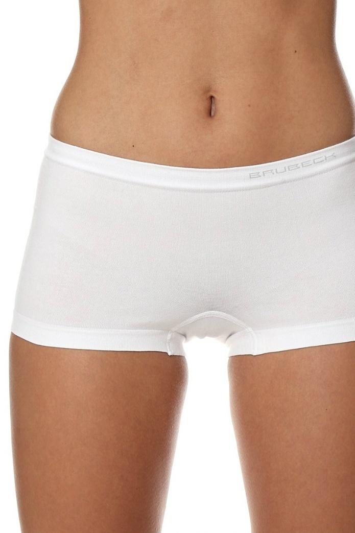 3e131be4a06 Dámské bezešvé boxerky Brubeck Comfort cotton bílé - ELEGANT.cz