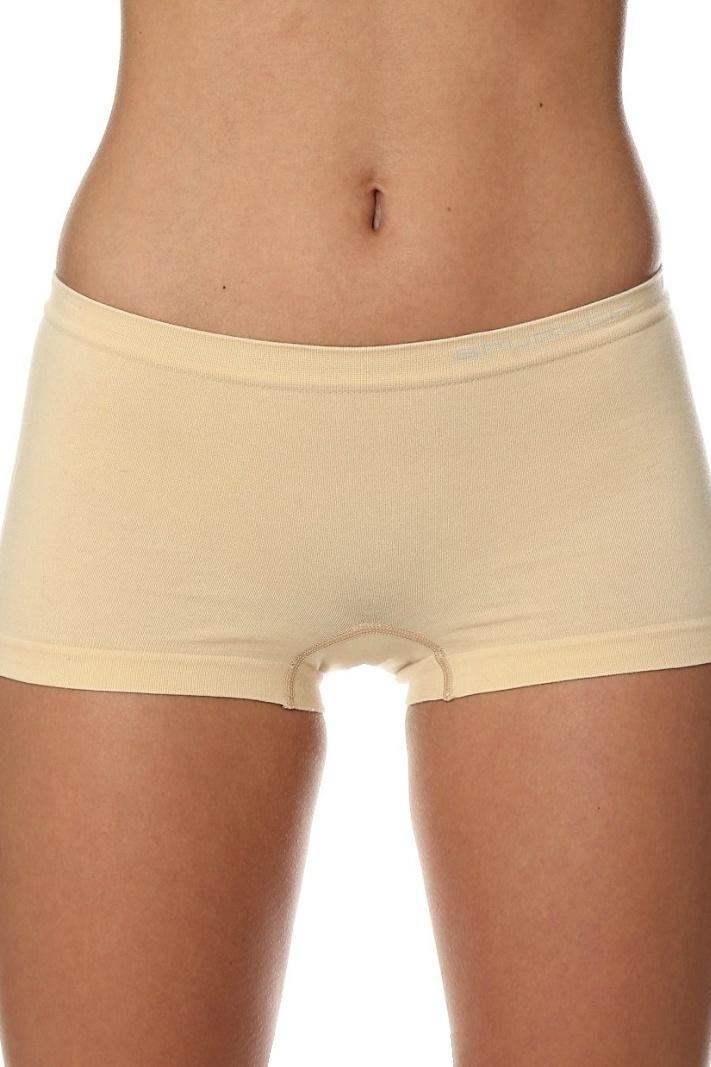 8cd5579c932 Dámské bezešvé boxerky Brubeck Comfort cotton béžové - ELEGANT.cz