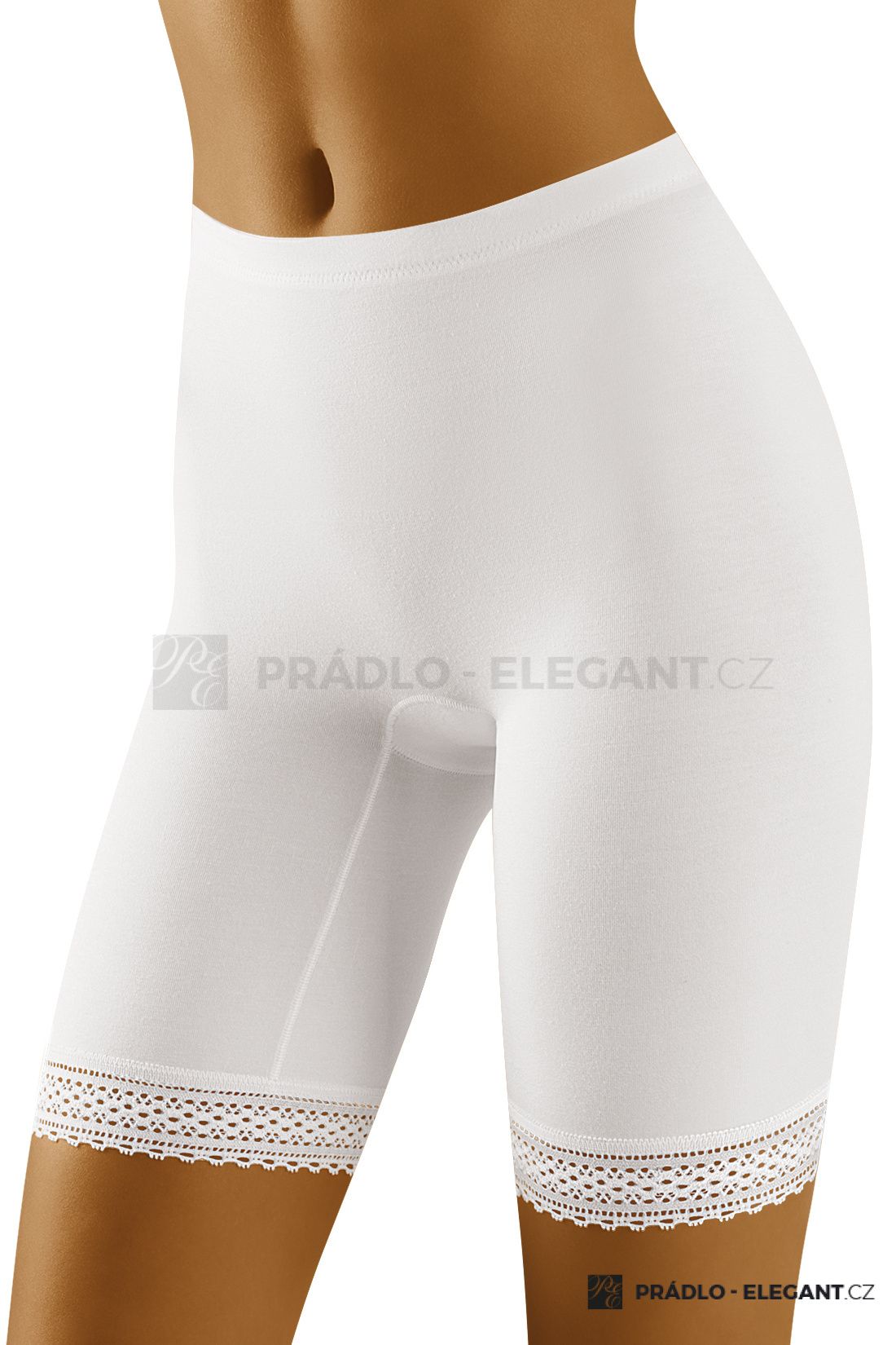 8b338fec5d6 Dámské nohavičkové kalhotky Rona bílé - ELEGANT.cz