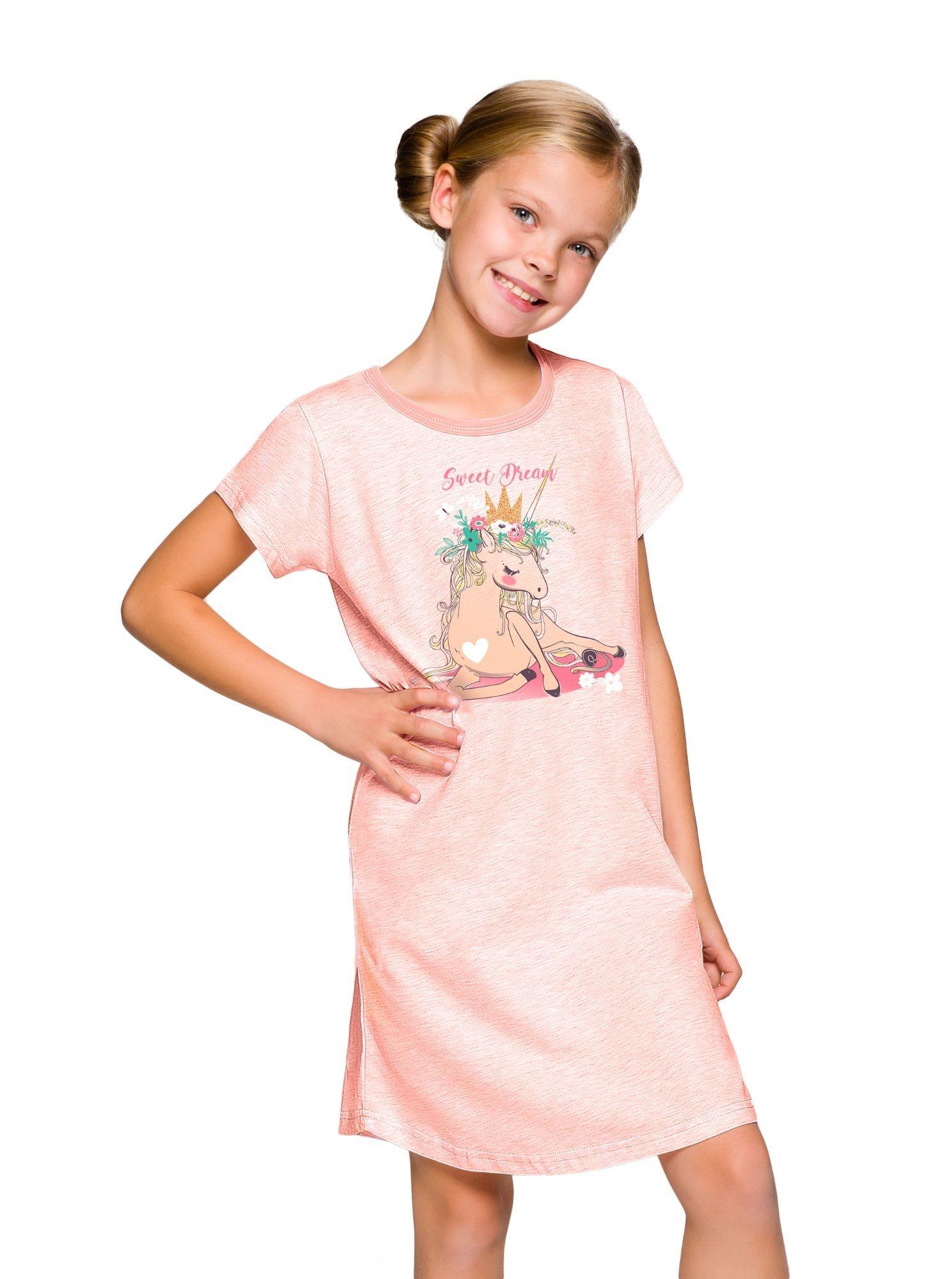 Dívčí noční košile Matylda jednorožec - ELEGANT.cz b74864a60f