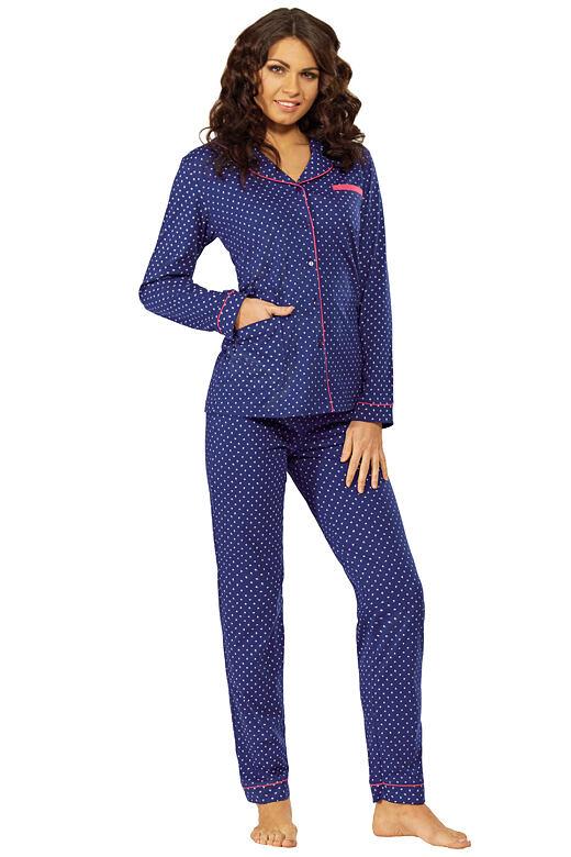 Dámské pyžamo Petra tmavě modré