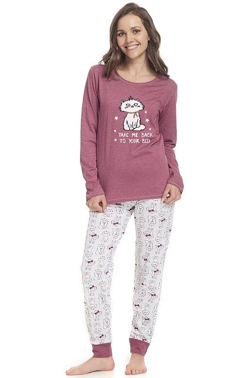 Dámské pyžamo Tess s kočičkou