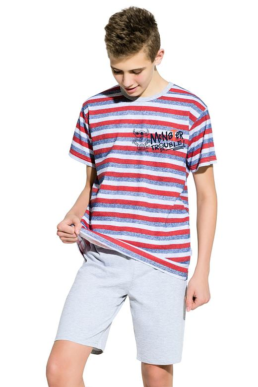 d786c9409 Chlapecké pyžamo Max pruhované velikost 146