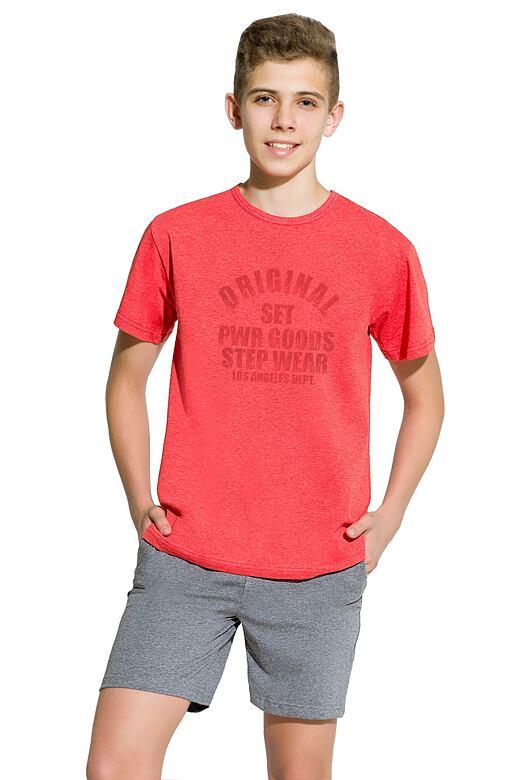 91ec6503b Chlapecké pyžamo Karel červené velikost 146