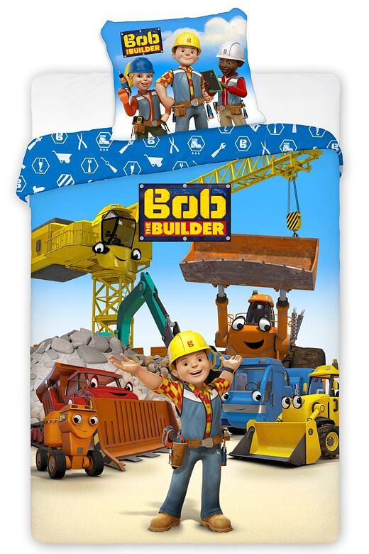 Dětské povlečení Bořek stavitel