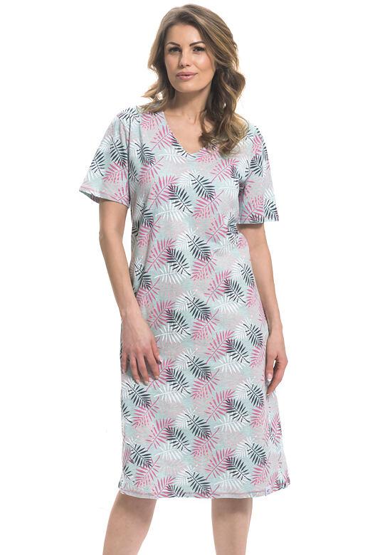 Dlouhá dámská noční košile Rosemary mint 4a3d66598c