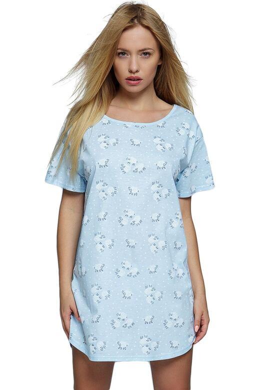 Triko na spaní Blue Sheep modré