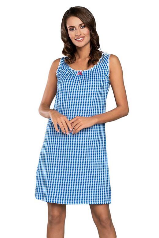 Noční košilka Kamila modrá XL