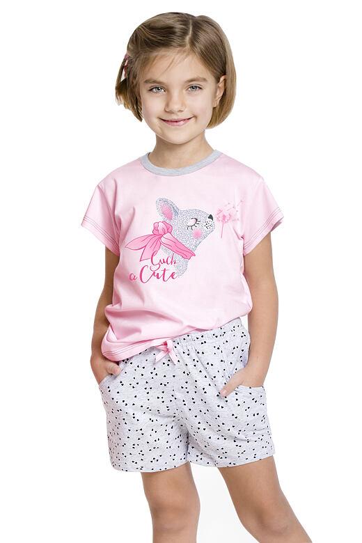 Dívčí pyžamo zajíček Vanessa růžové