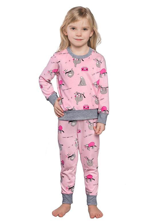 Dívčí pyžamo Orso růžové