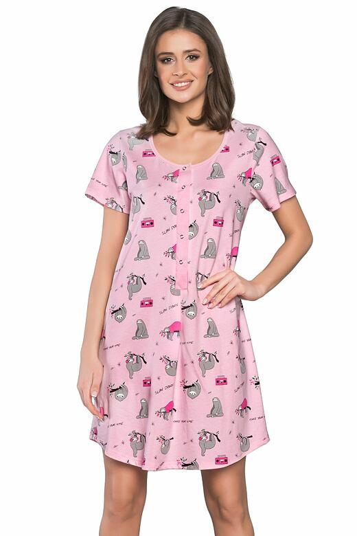 Dámská noční košile Orso růžová L