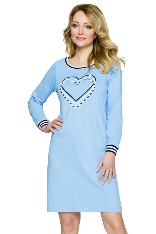 Noční košile Janet modrá