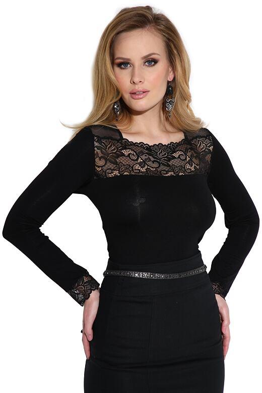 Dámské triko Irmina černé