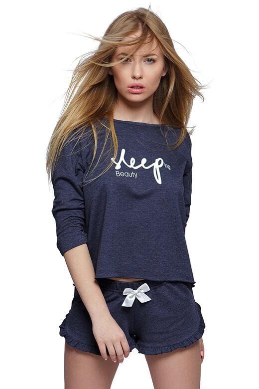 Dámské pyžamo Sleep tmavě modré