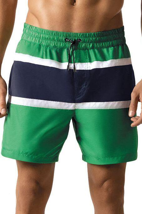 baf36e0cc43 Pánské šortkové plavky Tom zelené