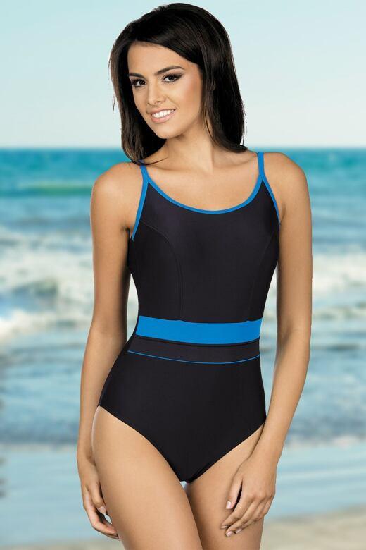 Lorin damske plavky delfina cerne modre l 1 produkt. Jednodílné sportovní  plavky Delfina černomodré 60568f769a