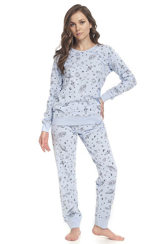 Dámské pyžamo Pam modré