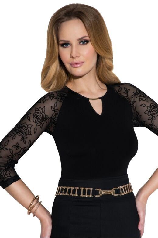 Dámské triko Rosaria černé