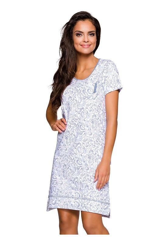 Dámská noční košile Mela modrá fa64775254