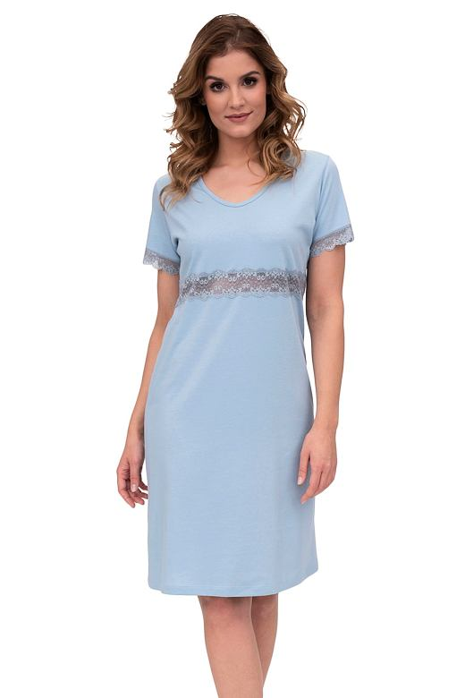 Noční košile Suzan světle modrá XXL
