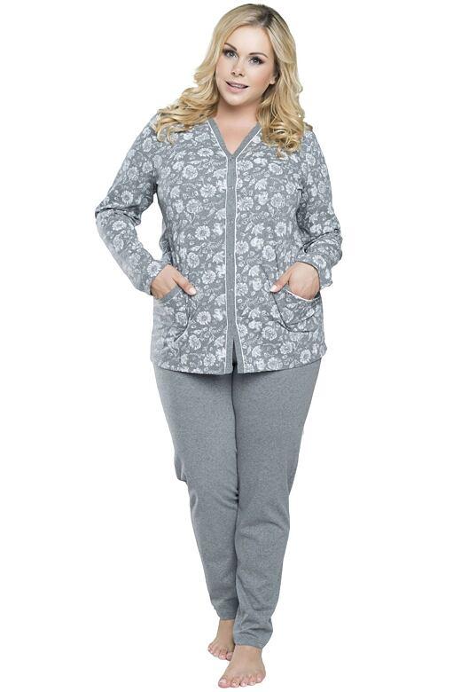 910dbac8c Dámské propínací pyžamo Paloma květinový vzor