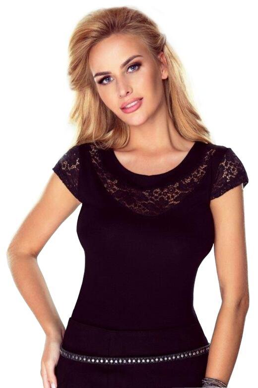 Dámské triko Eleonora černé