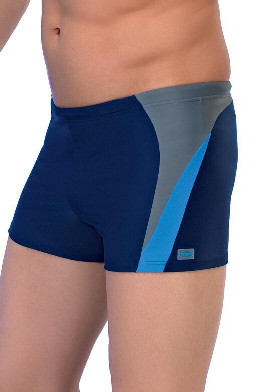 Pánské boxerkové plavky Peter2 modré