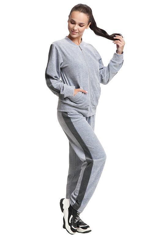 Dámské pyžamo Nora šedé M