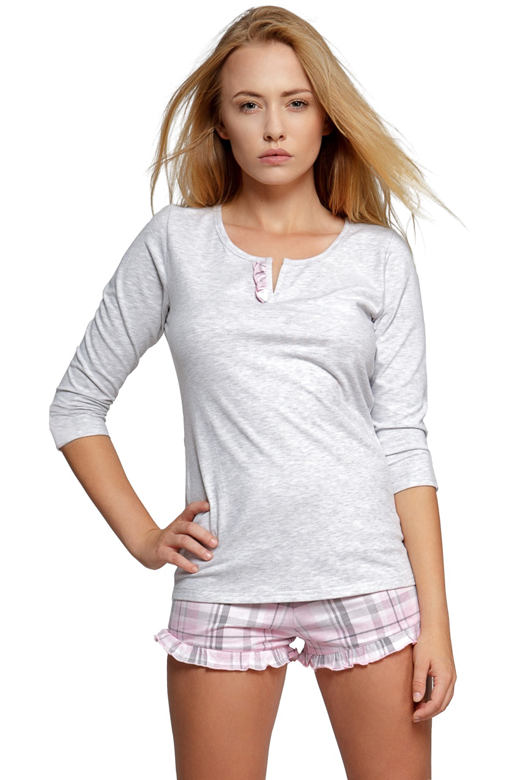 Dámské bavlněné pyžamo Sweet dreams krátké