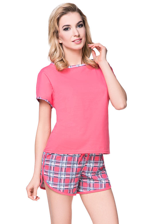 Dámské pyžamo Berry malinové