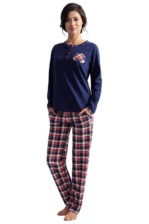 Dámské pyžamo Delilah tmavě modré