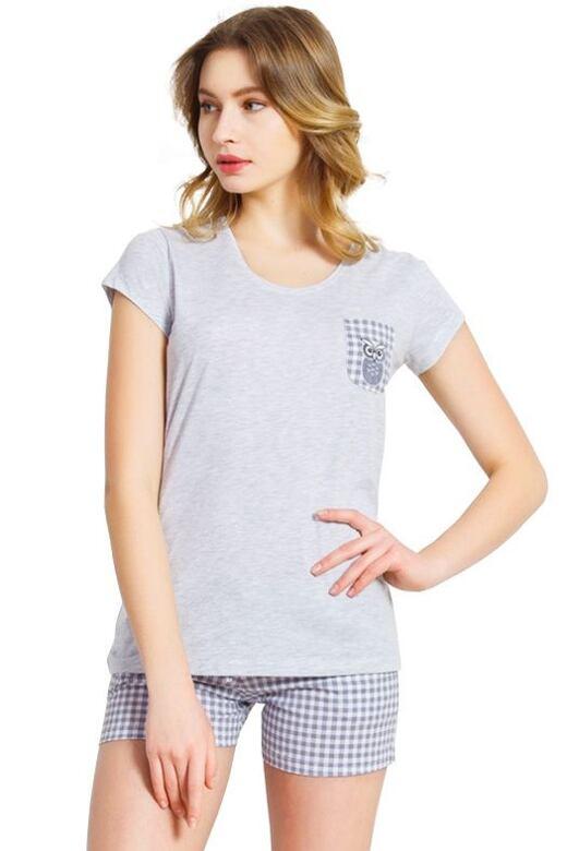 Dámské pyžamo Heather šedé