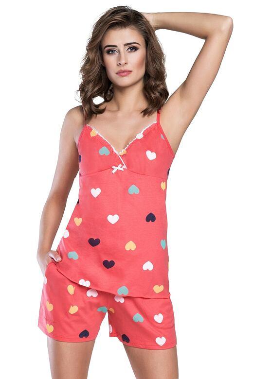 Dámské pyžamo korálové bavlněné Rafena 8b1163dca3