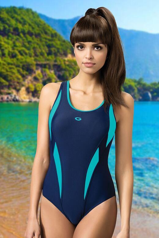 Jednodílné sportovní plavky Aqua III M
