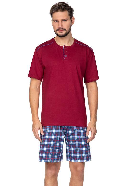Pánské pyžamo Billy červené XXL