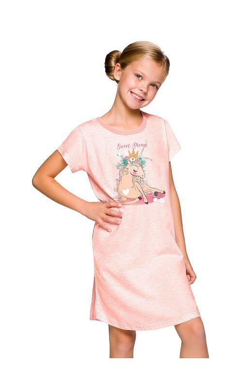 Dívčí noční košile Matylda jednorožec 200a761962