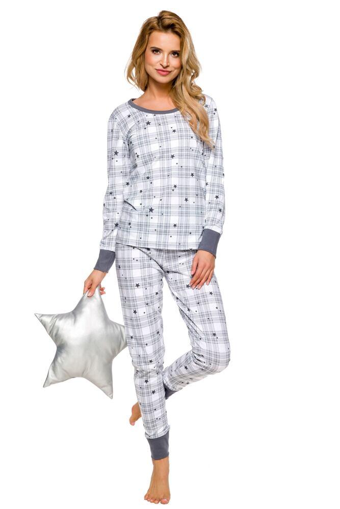 Dámské pyžamo Koko šedé velikost XL