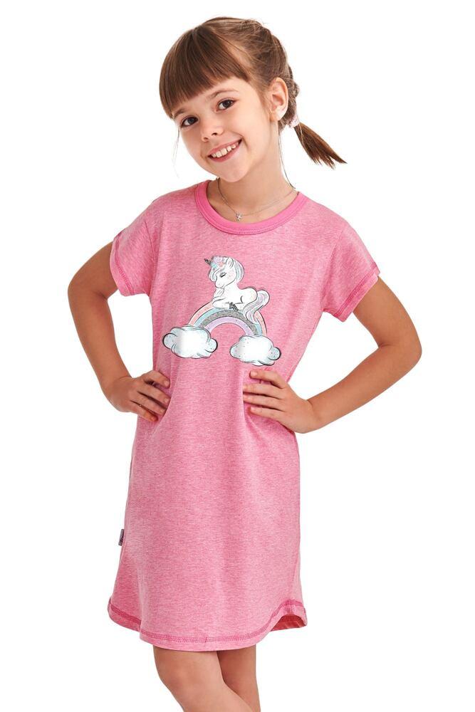 Dívčí košilka Matylda růžová Unicorn velikost 104