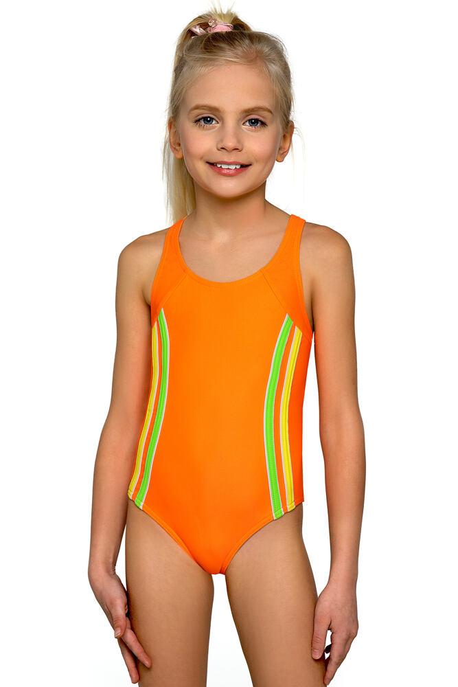 Dívčí plavky Klárka neonové velikost 152