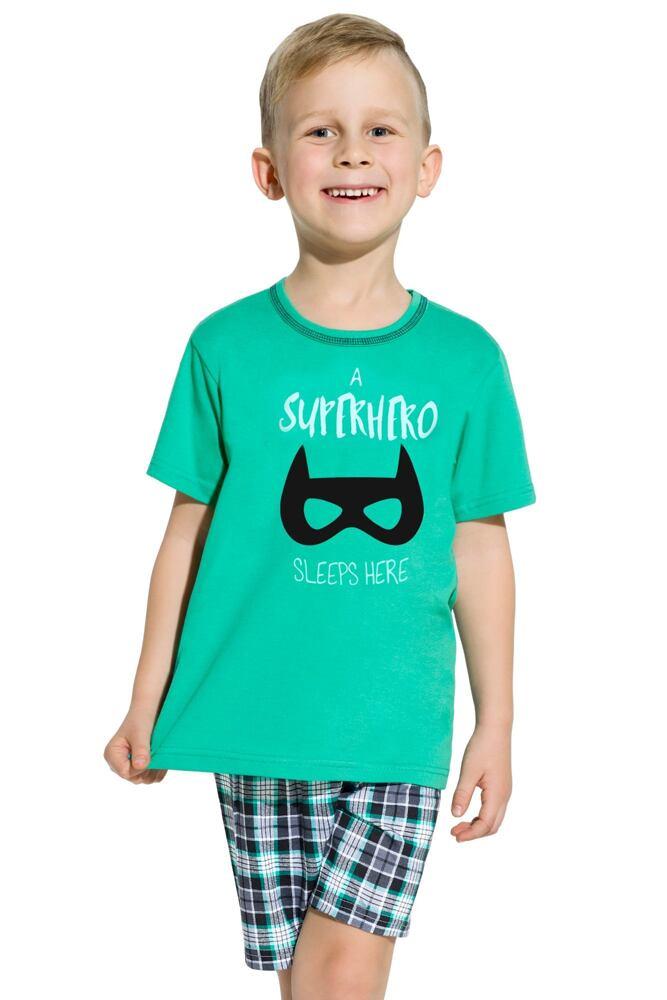 Chlapecké pyžamo batman Damian zelené velikost 110