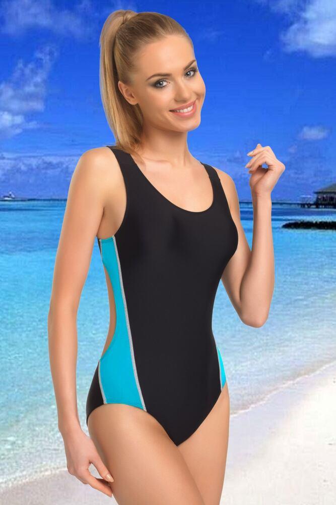 Jednodílné sportovní plavky Wenda II velikost L