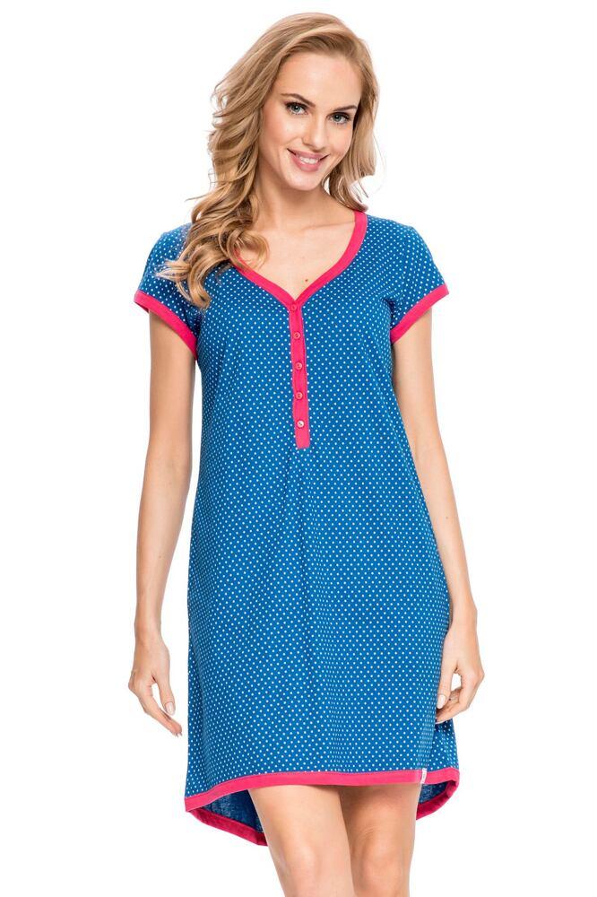 Dámská noční košile Diti modrá velikost S