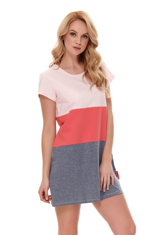Noční košile Hailey růžová velikost S