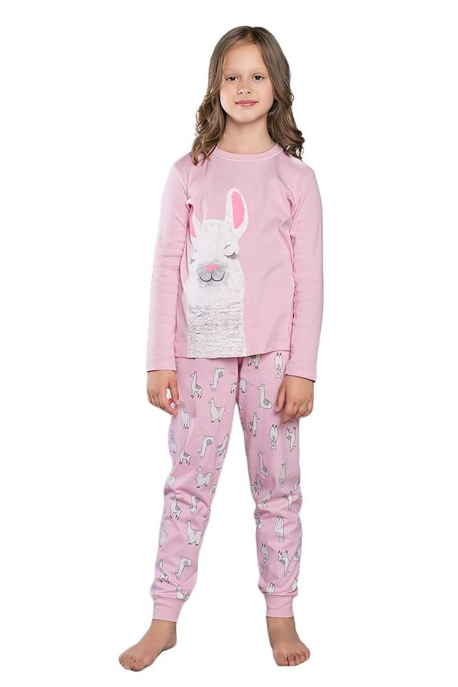 Dívčí pyžamo Peru růžové velikost 98