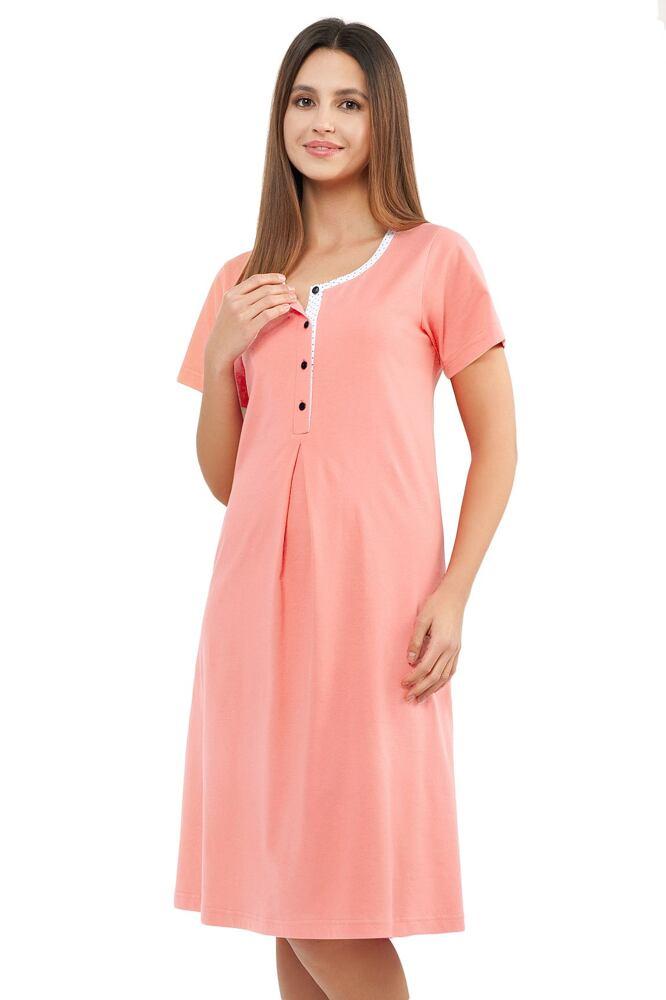 Noční košile Karmen meruňková velikost L