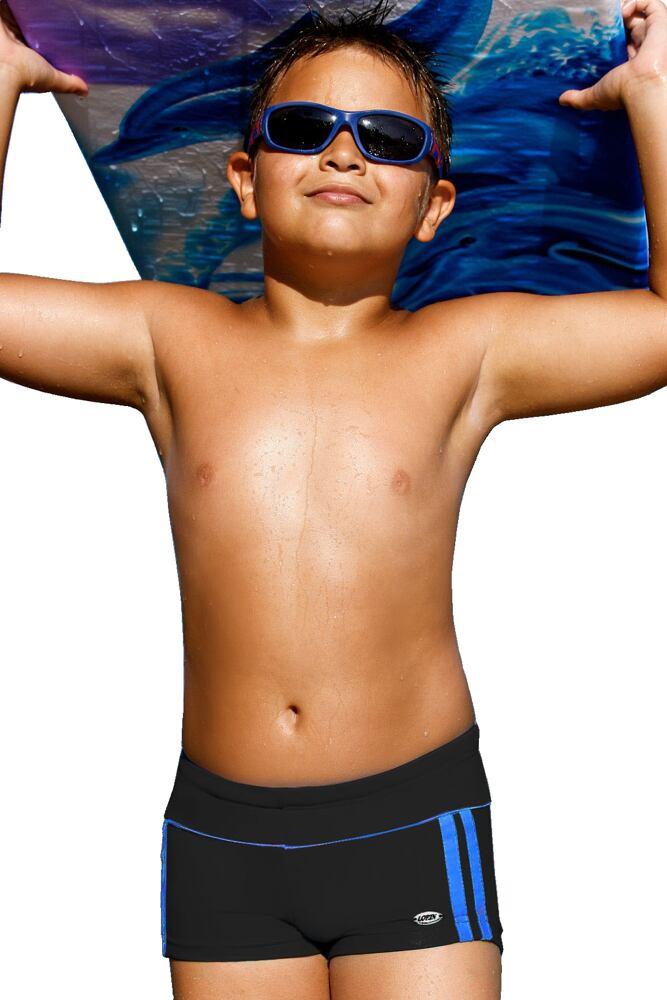 Plavky chlapecké Jirka černé velikost 152